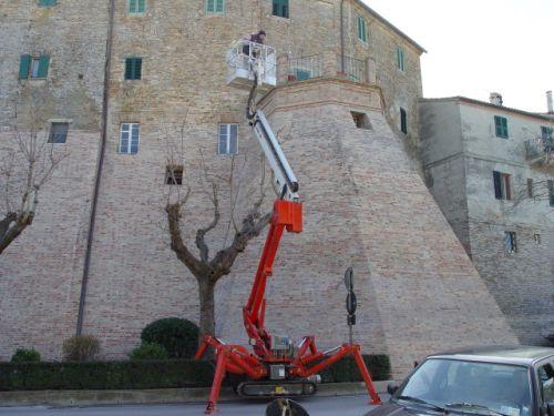 Consolidamento e restauro mura castellane di Appignano (MC)