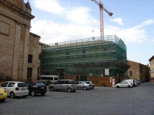 Edifici parrocchiali e chiesa di San Francesco di Tolentino (MC)